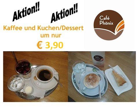 Neue Kaffee und Kuchen Aktion!