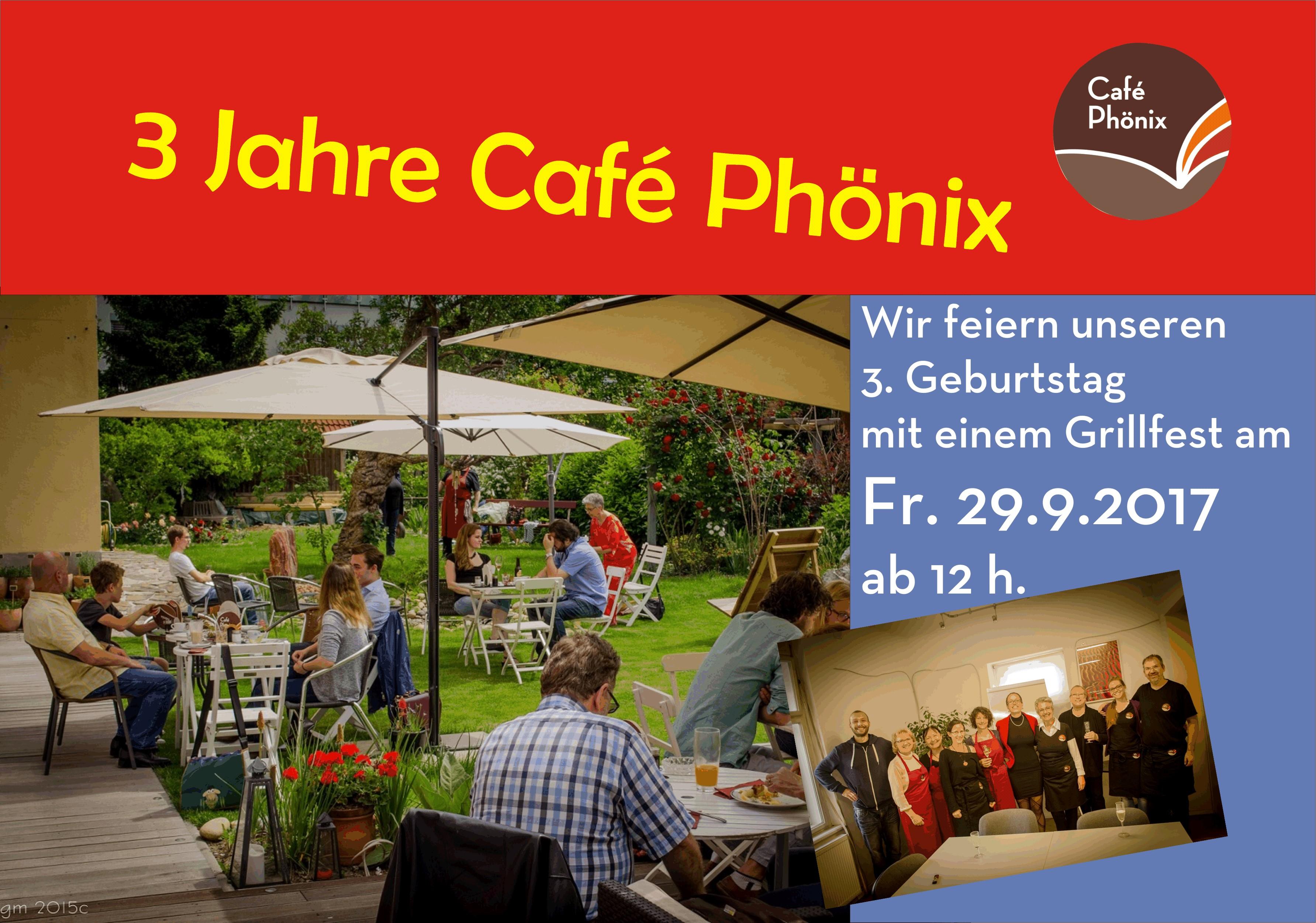 3 Jahre Cafe Phönix!!!