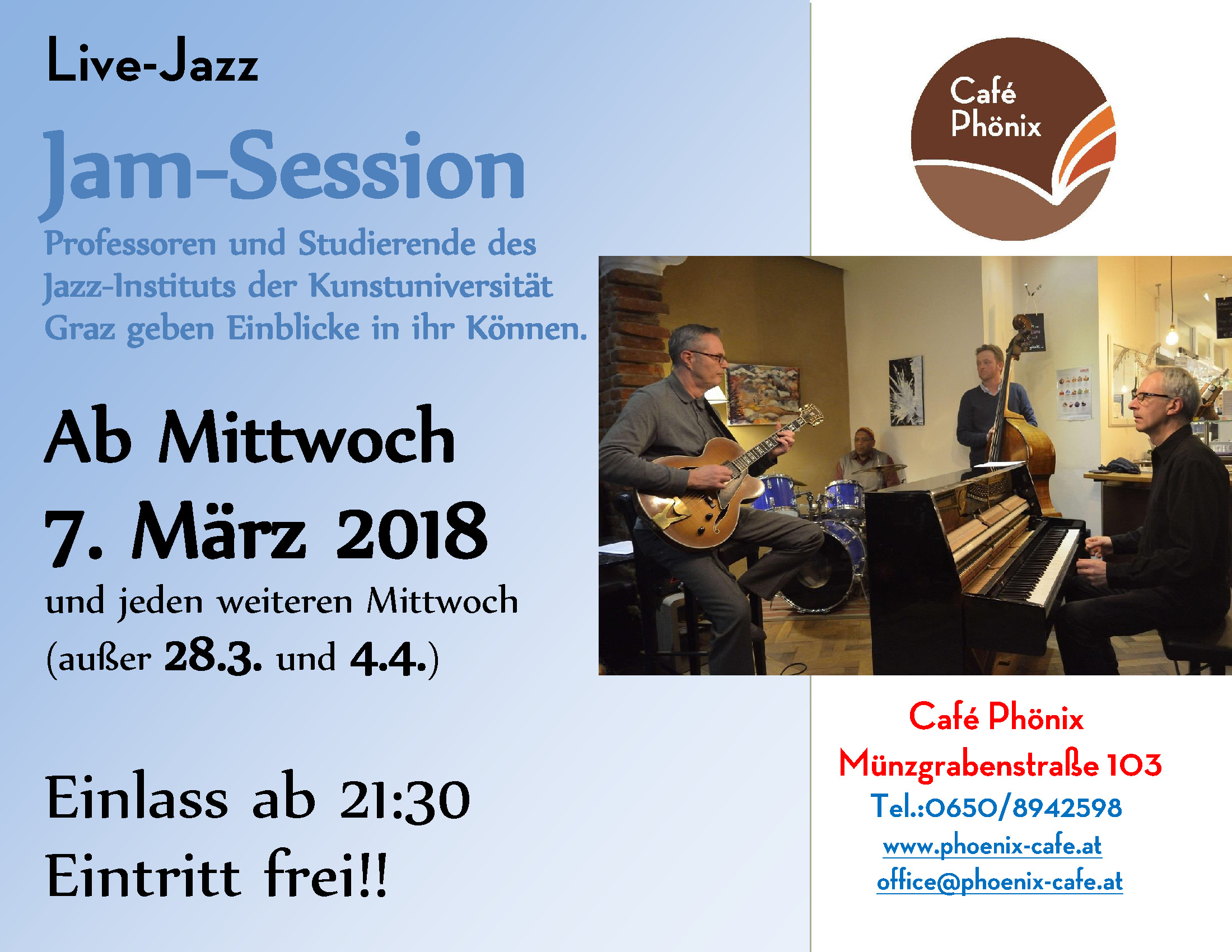 Live Jazz Musik!
